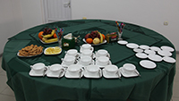Protocol tea-party. Practical training